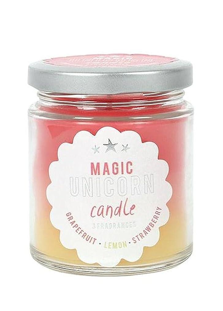 類推メルボルン抗議Magic Unicorn Rainbow Candle