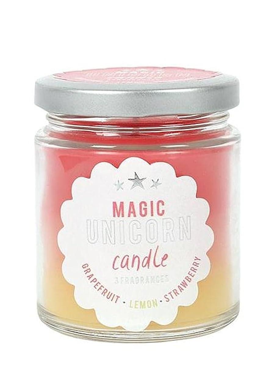 交じる無臭陪審Magic Unicorn Rainbow Candle