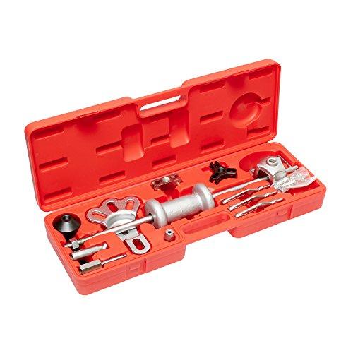 ABN Slide Hammer Puller Set Wheel Bearing Removal Tool w/Slide Hammer Attachments – Wheel Hub Puller Dent Repair Kit