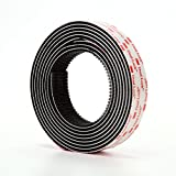 3M Dual Lock Reclosable Fasteners Heavy Duty Industrial Use Black TB3550 1' x 10 ft Mated Strip Indoor/Outdoor Use Great for Metal, Glass, Acrylic, PC, ABS
