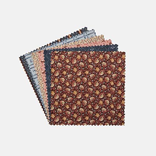 Connecting Threads Quilting-Stoff, vorgeschnitten, 12,7 cm Print Collection Speicherspur