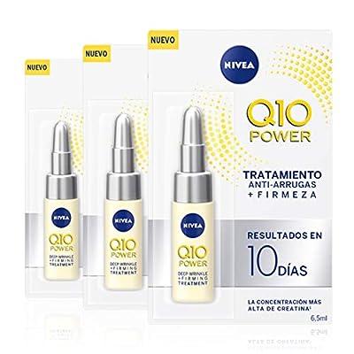 NIVEA Q10 Power Anti-Ageing Eye Cream with Anti-Wrinkle Firming Power, 15ml , (3 x 6.5 ml)