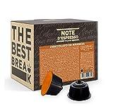 Note d'Espresso - Cápsulas de Chocolate a la Naranja - Compatibles con Cafeteras de Cápsulas...