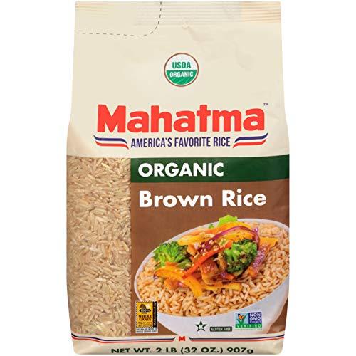 Mahatma Organic Brown Rice 2 lb