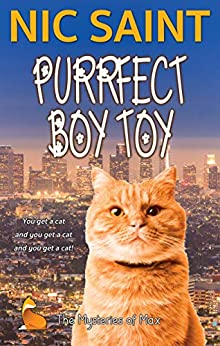 Purrfect Boy Toy (The Mysteries of Max Book 18) by [Nic Saint]