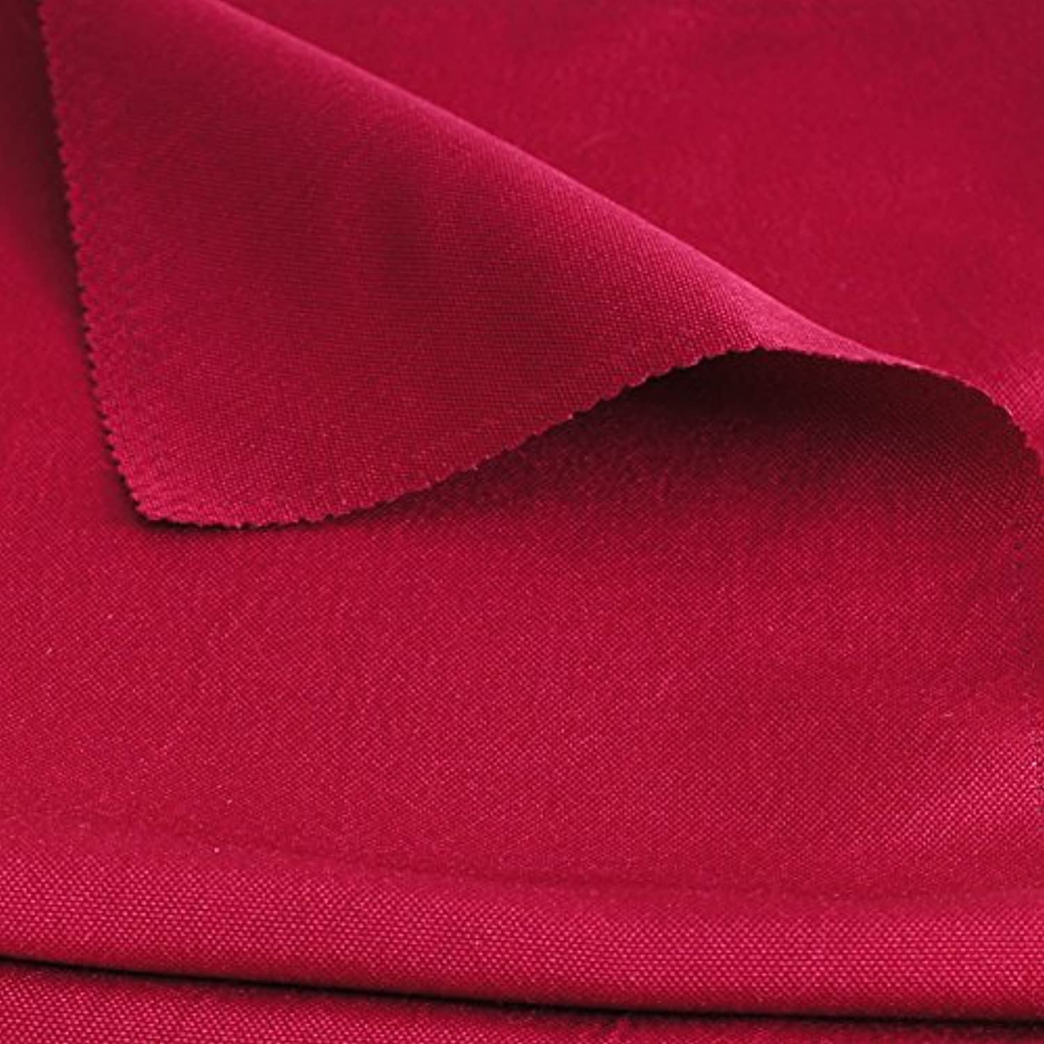 ZHFC The wedding party red cloth meeting room Taiwan color gift skirt round table cloth gaib napkin 4848 1 block,gules,280280cm