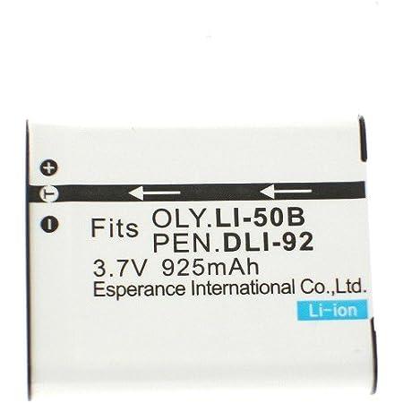 OLYMPUSオリンパス LI-50B対応互換バッテリー