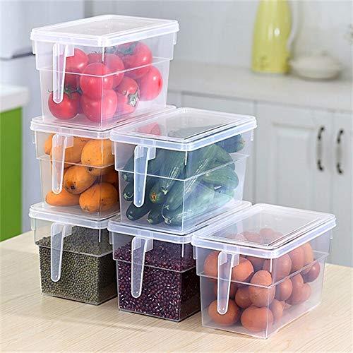 Caja De Almacenamiento Transparente De Cocina Libre De BPA Granos Almacenamiento De Frijoles Organizador Sellado Contenedor De Alimentos Cajas De Alma