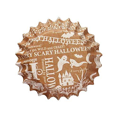 ハロウィンシリーズ ラッピング マドレーヌ パターン(ホワイト) 31-804 15枚×10セット