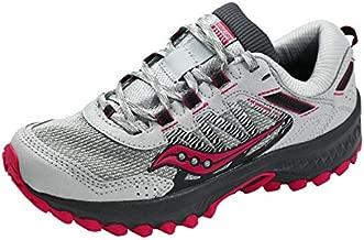 Saucony Women's Versafoam Excursion TR13 Trail Running Shoe, Grey/Berry, 9.5