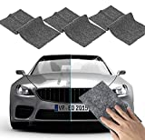 XIDIAK 3PCS Nano Car Scratch Remover Cloth, Multipurpose Car Scratch Nanomagic Cloth, Car Scratch Remover Kit for Repairing Car Scratches, and Light Paint Scratches Remover Scuffs on Surface (Black)