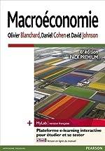Macroéconomie 6e édition - Pack Premium FR : Livre + eText + MyLab | version française - Licence étudiant 12 mois d'Olivier Blanchard
