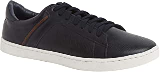 Parx Solid Synthetic Dark Blue Shoes