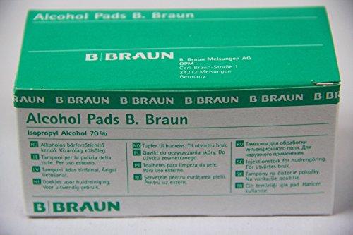 Alcohol Pads B. Braun Alkoholtuper 100 Stk. - PZN: 0629703