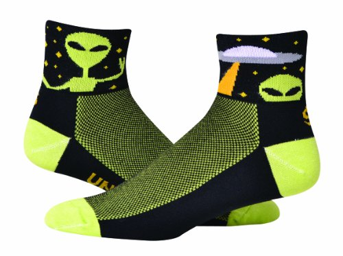 Save Our Soles Men's Universal Peace Socks, Green, Large