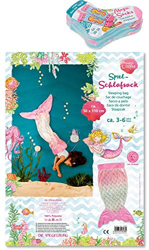 Coppenrath Spiegelburg Prinzessin Lillifee 2er Set 16383 16438 Magic Socks (Meerjungfrau) + Spiel-Schlafsack Kleine Meerjungfrau