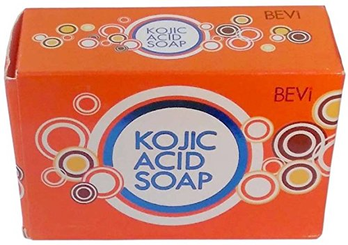 BEVI KOJIC ACID SOAP FROM MAKERS OF KOJIE SAN, LARGE 140-GRAM by BEVI
