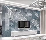 Mode Wanddekoration Poster Design Einfache TV-Malerei von Aquarellfedern TV Hintergrundwand...
