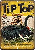 Tip Top Comic ティンサイン ポスター ン サイン プレート ブリキ看板 ホーム バーために