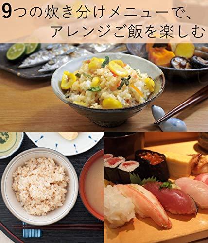 [山善] 炊飯器 5.5合 1L マイコン式 炊き分け YJD-M550(W) [メーカー保証1年]