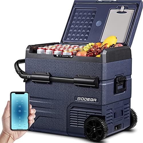 BODEGA 12 Volt Refrigerator, Portable Freezer, Car Fridge Dual Zone APP Control, 59...