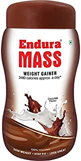 Endura Mass Weight Gainer 500gms- Chocolate Flavour