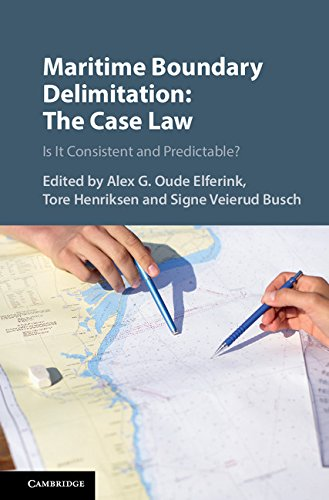 Download Maritime Boundary Delimitation: The Case Law: Is It Consistent And Predictable? (English Edition) 
