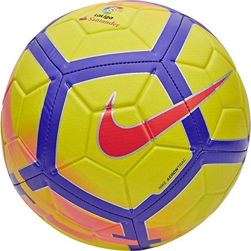 Nike ll Strk Pallone, Giallo/Porpora/Rosso (Crimson), Taglia Unica
