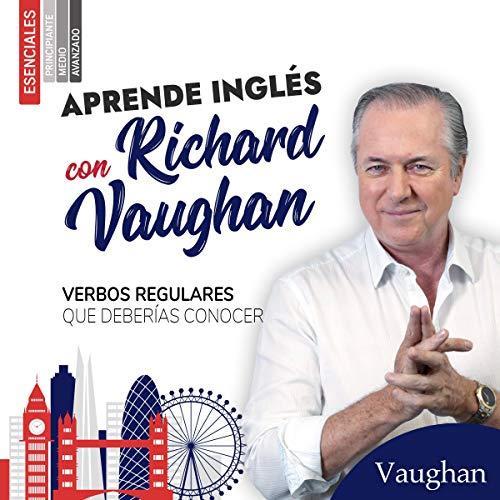Diseño de la portada del título Verbos Regulares en inglés que deberías conocer