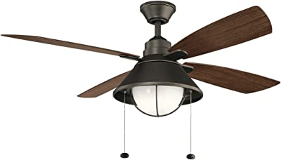 """Kichler Lighting 310181OZ 54"""" Ceiling Fan from The Seaside Collection, Image"""