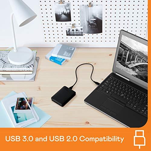 WD Elements Portable , externe Festplatte – 5 TB – USB 3.0 – WDBU6Y0050BBK-WESN - 3