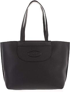 Tod's Luxury Fashion Damen XBWAOLA0300RIAB999 Schwarz Leder Tote | Ss21
