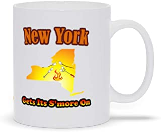 New York Gets Its S'more On! Novelty Ceramic Coffee Mugs
