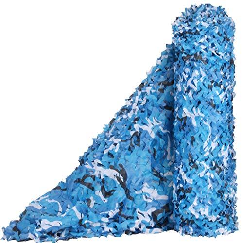 ZHJBD Camouflage Océan Camouflage Filet, Fleur Coupée Oxford Tissu Parasol De Pêche Film Thème Bar Restaurant Décoration De La Maison Paintball Tir Jeu De Photographie des Enfants Jeu (Size : 4x5m)