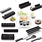 10 Unids/Set Diy Kit De Fabricación De Sushi Roll Sushi Maker Herramientas De Arroz Molde De Rollo De Sushi Cocina Japonesa Herramientas De Cocina De Sushi