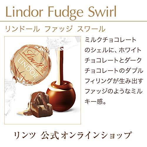 Lindt(リンツ)『リンドールファッジスワール10個入り(9700272)』