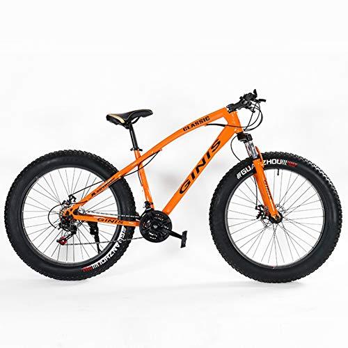 Nengge Mountainbike voor heren, 21 versnellingen, 24 inch, mountainbike, frame van staal met hoog koolstofgehalte, voorste sfeer.
