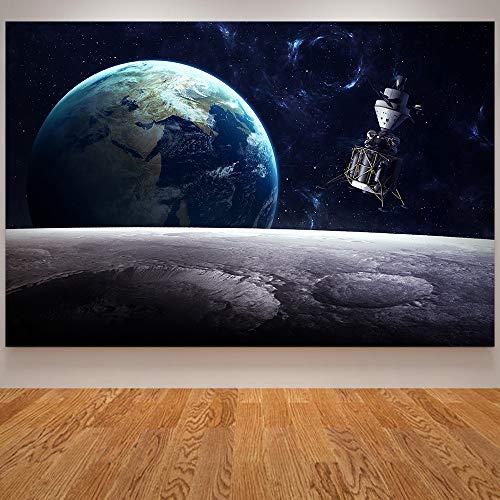 GJQFJBS Leinwanddruck Schwarz Loch Poster Universum Kunst Nebel Galaxy Wandbild Für Wohnzimmer Dekoration A5 40x50 cm