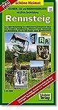 Rennsteig : Wander-, Ski- und Radwanderkarte mit Zick-Zack-Faltung