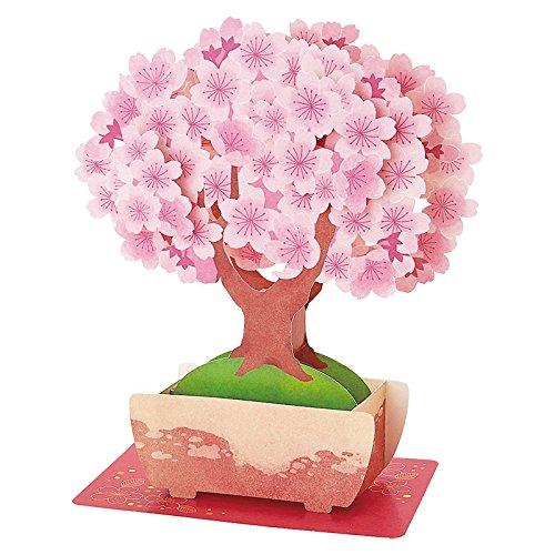 SANRIO Cherry Blossom Bonsai Tree Multipurpose Pop Up Greeting Card