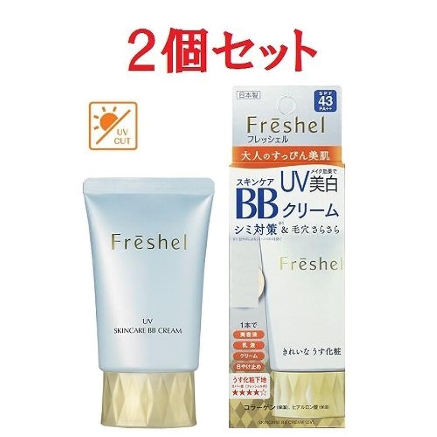 葉っぱのため幻想2個セット フレッシェル スキンケア BBクリーム UV 50g NB