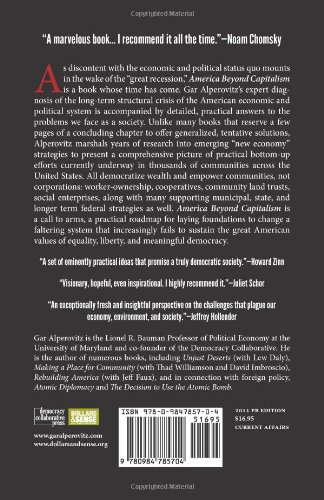 America Beyond Capitalism: Reclaiming Our Wealth, Our Liberty, and Our Democracy, 2nd Edition