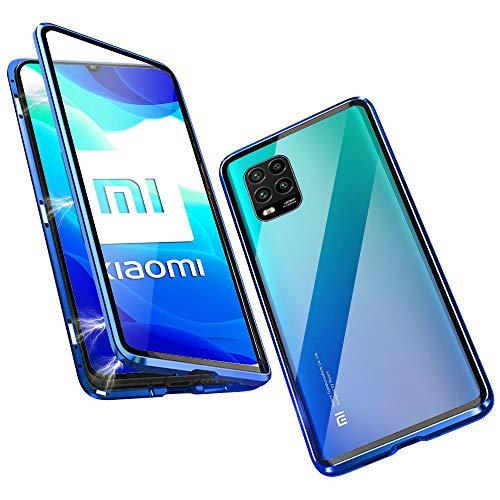 DoubTech Funda para Xiaomi Mi 10 Lite 5G Carcasa Adsorcion Magnetica Tech...