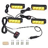 Andifany Intermitente Delantero LED de CamióN 4X4, 18 Modos...