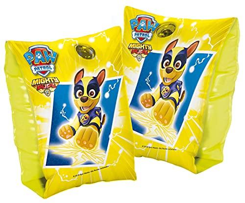 Smart Planet Schwimmflügel Paw Patrol - Schwimmärmel Schwimmhilfen aufblasbar - Schwimmhilfe für Kinder von 1 - 6 Jahren - 11 - 30 kg - gelb - Chase