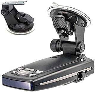 ChargerCity Car Dashboard & Windshield Suction Cup Mount Holder for Escort Passport 9500ix 9500i 8500 8500x50 7500 S55 Sol...