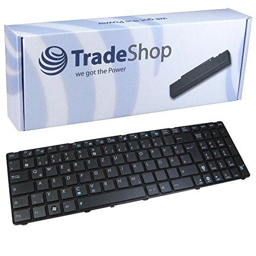 Trade-Shop Laptop-Tastatur Notebook Keyboard Ersatz Deutsch QWERTZ für Asus R704V Pro 7BS Pro 7BSV ersetzt 13N0-M7A1111 13GN8D7AP021-1 (Deutsches Tastaturlayout)
