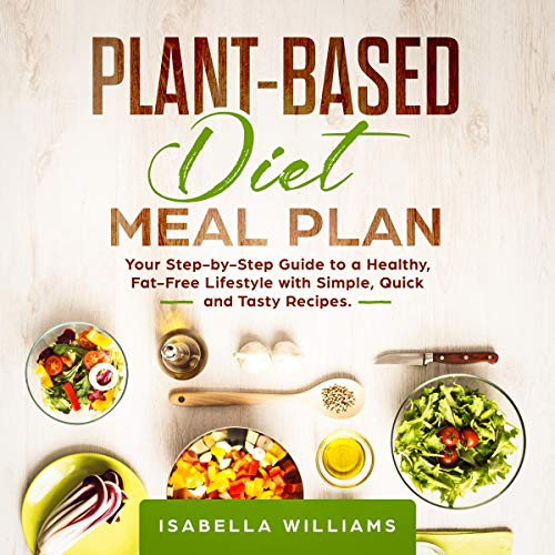 Plant-Based Diet Meal Plan audiobook cover art