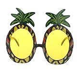 TRIXES Tropical Ananas Sonnenbrille für Kostümpartys und Karneval - Kostüme für Erwachsene