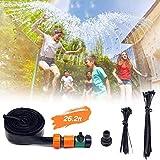 EasySMX Trampolin Sprinkler Trampolin Spray Wasserpark für Kinder Sommerspielzeug, einfach zu...